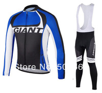 High Quality Hot Selling 2014 Pro Team  Winter Fleece/Thermal Cycling Jersey(Maillot)+Bib Pant(Culot)//Some Sizes/Italy Ink