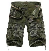 New 2014 Fashion Summer Men Camoflage Matte Sport shorts Men's Cargo Jeans shorts Leisure denim shorts,Plus size(29-38,XXXXL)