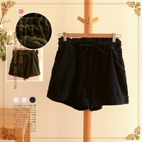 Lovable Secret - Loose casual corduroy short trousers 2013 autumn and winter women 11313  free shipping