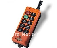 Top quality 10 Channels Double Speed Hoist Crane Truck Radio Remote Control System Controller  Industrial remote controller
