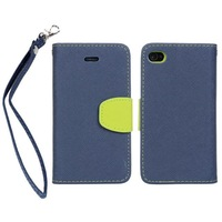 New Arrival Luxury Wallet Leather Stand Design case for iphone 4 4S 4G PU with Card Holder