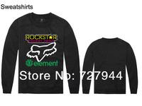 2014 New arrival fashion Rockstar Sweatshirts mens hip hop sweaters cheap  long sleeve O neck  sweatshirt Free shipping