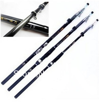 Free Shipping 4.5m Model Fishing Rod Carbon Telescopic Fishing Rods Carbon Fiber 8 Sections