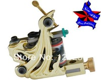 2014 Newest Tattoo Machine Professional  Tattoo Kits Supplies For Tattoo Artist  2pcs/lot Gold Color