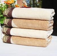 Free Shipping, 2pcs/Lot 100% Cotton Face Towel 72X34CM 100g/piece