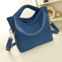 2014 women's genuine leather handbag fashion women's shoulder bag handbag large bag cross-body leather bag