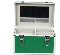 2013 High Quality Professional w/ Lock Multi-layer Toilet Vanity Jewel 4 trays Cosmetics Case,  Makeup Box,  Beauty Organizer