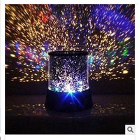 New creative Night Romatic Gift Cosmos Star Sky Master Projector Starry Night Light Lamp child gift LED toy