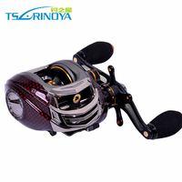 Fishing Reel Trulinoya Lure Reel Casting Reel TS1200 Left Hand 14 Bearings  Bait Casting Fishing Tackle