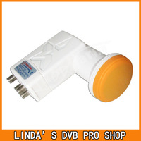 1pc/lot Free shipping! Quad LNB 0.1db  KU Band LNB SR-4604 LNB four output HD LNB in satellite TV receiver
