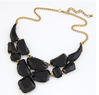 New Arrival Vintage Opaque Statement Necklace Fashion Women Jewelry Accessories Wholesale
