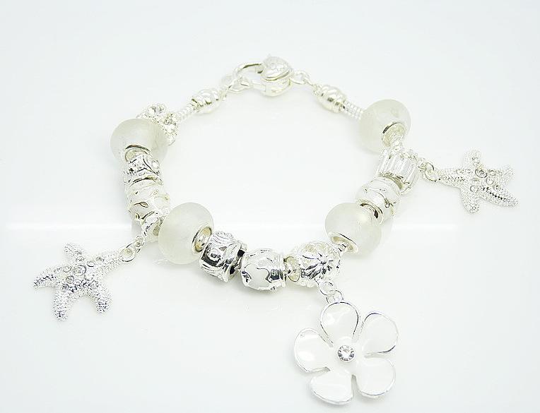 Браслет с брелоками Silver Charm P68 925 & Bracelet браслет цепь oem lx ah211 925 925 aigaizna buraklya bracelet