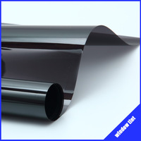 Free-shipping!! 0.5*3m/20''*118'' uv+insulation dark black Car window film window tint film