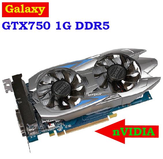Видеокарта для ПК Galaxy nVIDIA GTX750 1G DDR5 128/pci/e 3.0 16 x 3 galaxy gtx 780 hof