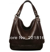 Hot 2014 women genuine leather handbag vintage fashion women handbag women leather handbag first layer of cowhide shoulder bags