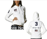 2014 Spring and Autumn Ladies Fleece pullover polo sweater fashion casual hoodie jacket hoodies Paul
