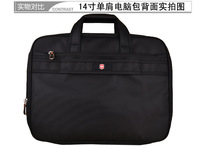 The real Swiss army knife singles shoulder bag briefcase 14 inches large capacity computer bag