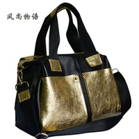 genuine leather handbags hot 2014 new first cow of leather bag shoulder diagonal package