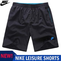 2014 NEW! NIKE -men sport shorts Sport pants Five pants Outdoor sports shorts casual shorts Free Shipping!