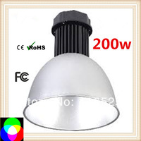 200W LED high bay light AC85-265V led highbay light  19500-20000lm 2 years warranty E0067 fedex free 2pcs/lot