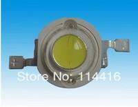 Free Shipping !!! 100PCS/LOT High Power 1W 100-120LM 3.2-3.4V 300MA White led lamp 6000-6500K