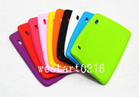 "100pcs 7"" Silicone Case Cover For 7 inch allwinner A13 Phone Call Android Tablet PC 86V"