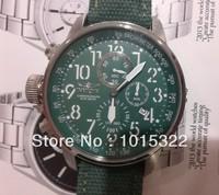 Invicta Force Lefty Chronograph Green Dial Green Nylon Strap Mens Watch 1874 + Original box Free Shipping