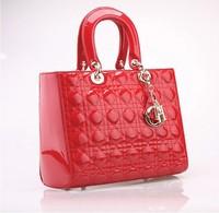 2014 high quality fashion more colors  Women handbags oblique satchel 6 color  Messenger Bag