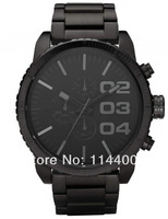 HK post Free shipping stainless steel strap DZ4207 fashion men's watch Wristwatches +original box