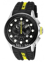 Promotion Invicta S1 Rally 10838 Men's Rally Going the Distance Rubber Strap Chronograph Watch + Original box Free Shipping
