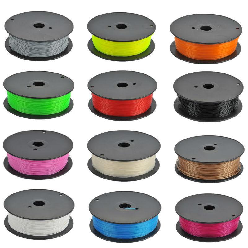 Потребительские товары Orange Color PLA Plastic Filament With Vacuum Packages