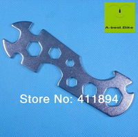 12 in 1 Bicycle Bike Multi Function Tools Set Porous Flat Steel Wrench Tool Kits 7- 24MM, 3 pcs
