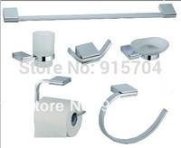 Free Shipping! zinc bathroom accessories set,6 pieces per set