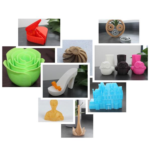 Потребительские товары Plastic Material PLA Filament For 3D Printers