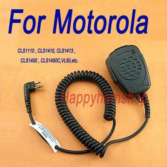 Rainproof Handheld Speaker Mic for Motorola Walkie Talkie GP2000 GP308 GP68 GP88S XTN CLS Series(China (Mainland))