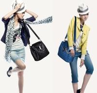 2014 new handbag shoulder bag diagonal small bag Quilted