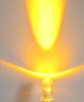 5mm 15 angle 10000 mcd ball Light Beads free shipping round shape high light yellow lamp LED angle light use led high intensity