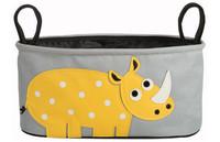 2014 New Diaper Bag Mummy Bags carts Yellow rhinoceros Baby Diaper bags Handbag-DZY397A