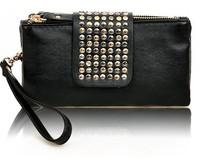 Women Leather Handbags Fashion Rhinestone Design Clutch Bags Hot Sale Best Price Support Women BW0542