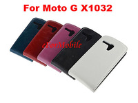 2014 New Cover Mobile Phone Leather Case Cell Phone Case  For Motorola Moto G X1032