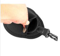 2 pocket Camera lens filter bag case for 40.5/43/46/49/52/55/58/62/67mm cpl mc uv ND gradient gray filter