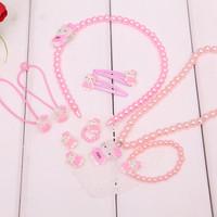 Four Fashion Design Children Kid's Girl Handmade Jewelry sets  10set/lot  Kid Jewelry Set Fashion Jewelry Sets XL010