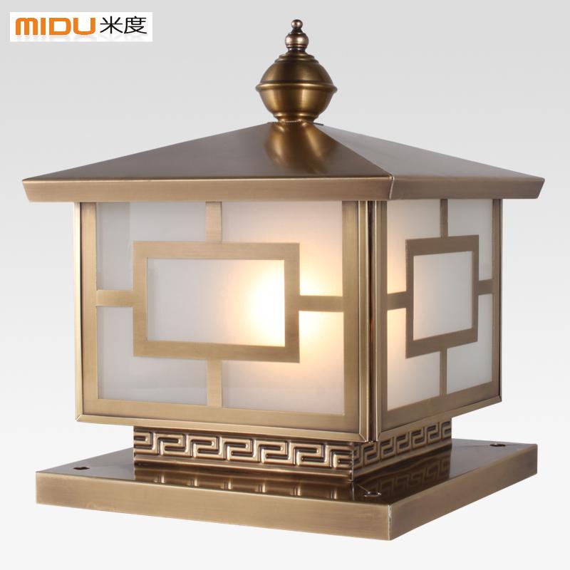 Villa Solar Outdoor Pillar Light ...