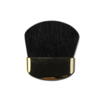 Makeup Cosmetic Mineral Gold flat Brush Blush Foundation Powder Beauty[201429 ]