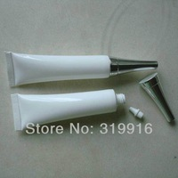 Free shipping - 10ml (50pc/lot) White Soft Tube, 10CC Mildy Wash/ Butter/ Handcream Tube,Used for eye Cream Container