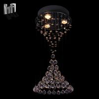 Modern brief k9 crystal ball steel wire line pendant lamp hybrid-type stair 80012 - 300