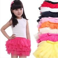 Wholesale 2014 new children's clothing girls tutu skirt girl skirt waist bust veil Free Shipping
