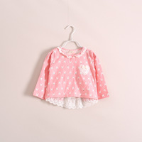 ye030220 new models tri-color long-sleeved summer children's clothing wholesale Qunshan