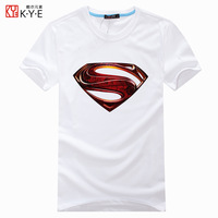 2014 summer super man short-sleeve T-shirt men's clothing plus size plus size plus size loose t shirt