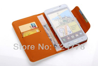 4.0-4.5 inch Universal Wallet PU Leather Flip Case For HTC E1 JIAYU F1 G3 G3S G3C Xiaomi 2s OPPO R815W For Galaxy Trend 3